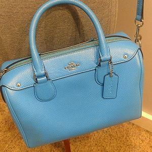 Coach Bags - LNWOT Bright Blue Authentic Coach Purse